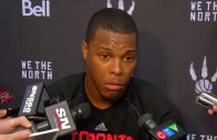 "Kyle Lowry says he's ""trash"" when asked about his recent play"