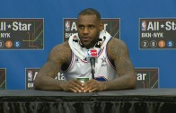 LeBron James post All-Star game press conference