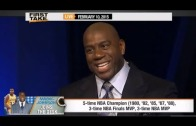 Magic Johnson talks Los Angeles Lakers & is critical of Jim Buss on ESPN First Take