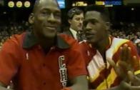 Michael Jordan & Dominique Wilkins look back on the 1988 Dunk Contest