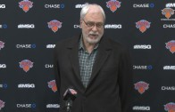 Phil Jackson on Carmelo Anthony knee surgery, Trade Deadline & the future of the Knicks (Press Conference)