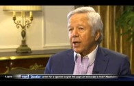 Robert Kraft speaks on his business decisions with the New England Patriots