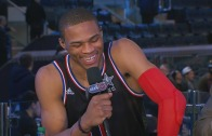 Russell Westbrook interview with Inside The NBA post All-Star game