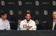 San Diego Padres introduce James Shields (Press Conference)