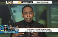 Snoop Dogg talks about his son going to UCLA on ESPN First Take