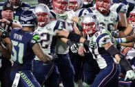 Fight breaks out during the end of Superbowl XLIX