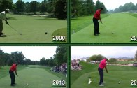 The evolution of Tiger Woods' swing from 2000 to 2015