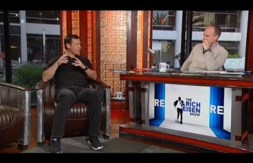 UCLA Head Coach Jim Mora interviewed on the Rich Eisen show