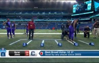 UConn CB Byron Jones sets broad jump record at NFL Combine