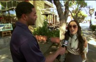 Would you recognize Malcolm Butler? Malcolm Butler conducts street interviews
