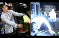 Young & Wild: Rob Gronkowski spikes roses in Hollywood