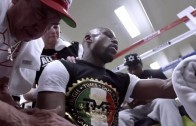 Floyd Mayweather new training clip on wanting to be the best ever