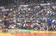 Blindfolded attempt in PBA dunk competition fails miserably
