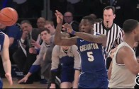 Creighton player nails teammate in face