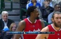 DeAndre Jordan knocks in first career 3-pointer off broken play