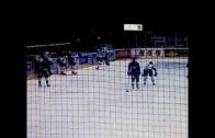 Former NHLer Andre Deveaux brutally attacks Swedish hockey player