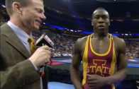 Iowa State's Kyven Gadson wants ice cream after winning NCAA wrestling title