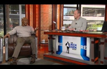 "Mike Tyson talks film ""Champs"" & boxing with Rich Eisen"