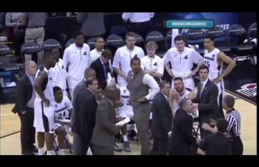 Providence coach Ed Cooley gets technical foul for slamming chair