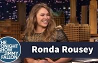 Ronda Rousey demonstrates armbar on Jimmy Fallon