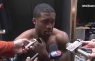 Wesley Matthews speaks on tearing his Achilles