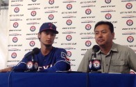 Yu Darvish talks about reaction to decision to have Tommy John surgery