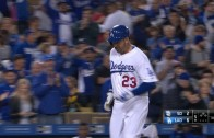 Adrian Gonzalez becomes first player to hit 5 homers in first 3 games