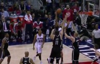 Al Horford throws it down over 3 Brooklyn Nets defenders