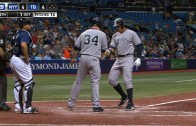 Alex Rodriguez stays hot & belts a 2 home runs vs. Rays
