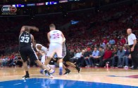 Blake Griffin with 3 massive poster slams