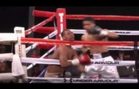 Brutal knockout by Antonio Russell on Harold Reyes