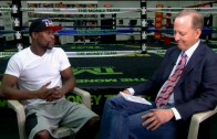 Floyd Mayweather talks Pacquiao fight with Jim Gray