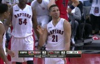 Greivis Vasquez knocks down clutch 3-pointer to force OT