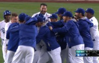 Howie Kendricks singles & the Dodgers walk off in back to back nights