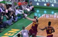 Isaiah Thomas dangles the defense & drops the dime to Jerebko