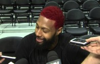 James Johnson channels his inner Dennis Rodman