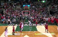 Jerryd Bayless hits game winning layup at the buzzer for the Bucks