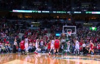 Jimmy Butler banks in buzzer beating 3-pointer
