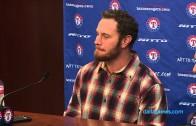 Josh Hamilton speaks on his return to the Texas Rangers