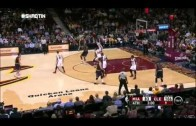 Kendrick Perkins gets away with 9 step travel from last week's game