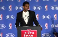 Lou Williams speaks on receiving the 6th Man of the Year reward