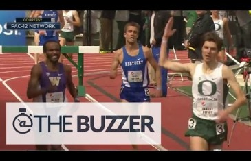 Oregon runner prematurely celebrates win & loses race