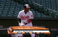 Orioles play by play guy Gary Thorne does his best Masters voice