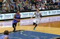 Russell Westbrook throws down two massive breakaway slams