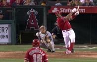 Albert Pujols walks it off the Angels & eyes down Padres dugout