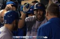 Chris Colabello cranks a game winning two-run home run vs. his former team