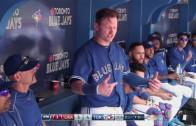 Josh Donaldson tells Angels pitching coach to suck his c*ock