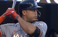 Giancarlo Stanton crushes homer out of Dodger Stadium