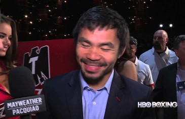 Manny Pacquiao goes one-on-one with HBO Boxing ahead of Saturday's big fight.