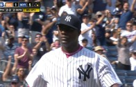 Michael Pineda strikes out 16th batter of the game